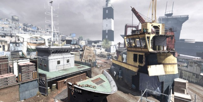 Modern Warfare 3 DLC Decommission map screenshot