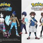 Pokemon Black and White 2 Trainers Wallpaper