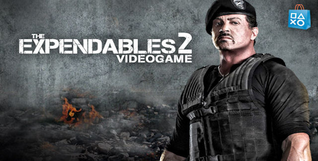 Sylvester Stallone In Expendables 2 Wallpapers: On PlayStation Network: The Expendables 2 Video Game