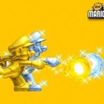 New Super Mario Bros 2 Gold Mario & Silver Luigi Wallpaper