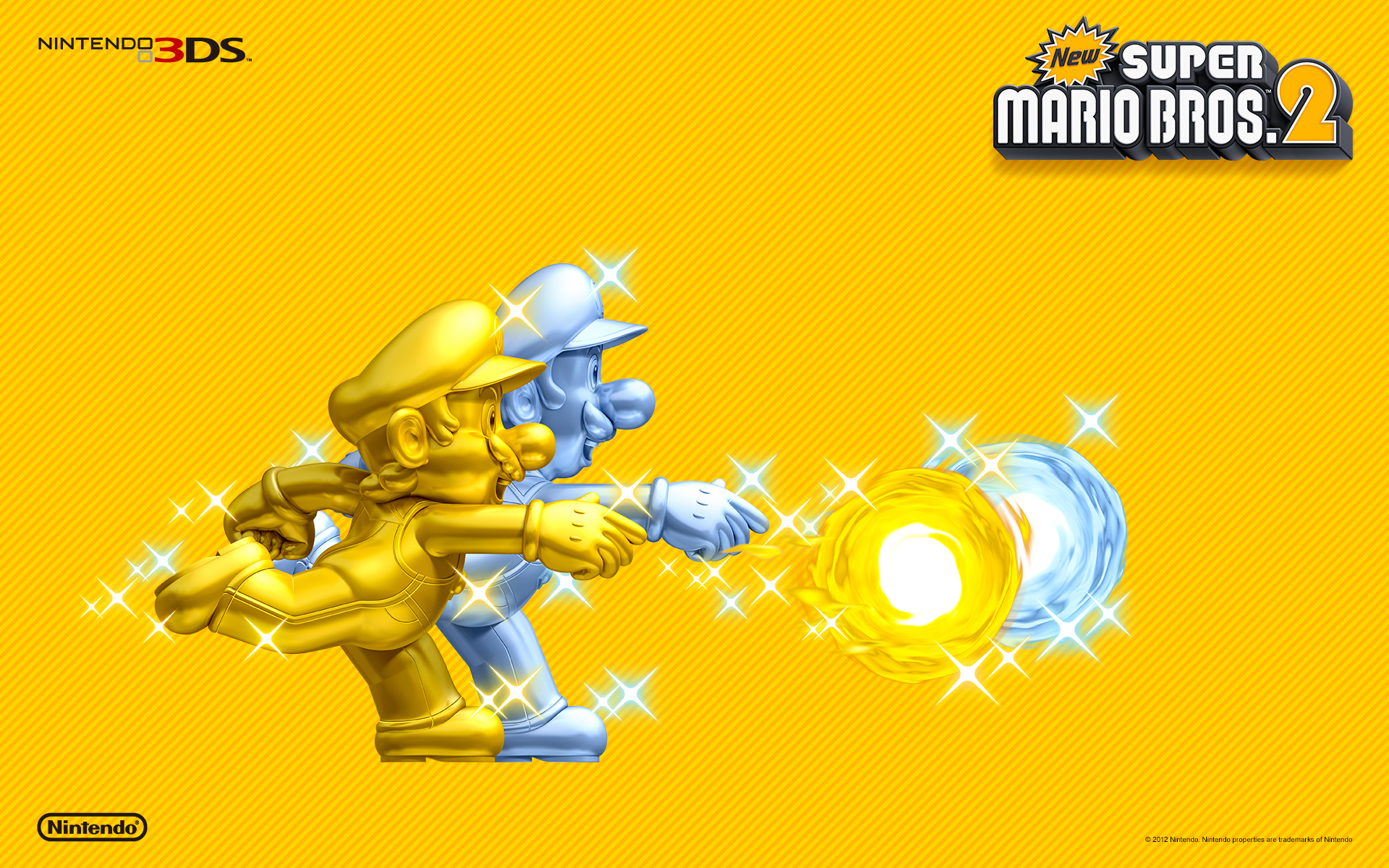 Super mario bros 2 gold mario silver luigi wallpaper new super mario bros 2 gold mario silver luigi wallpaper altavistaventures Gallery