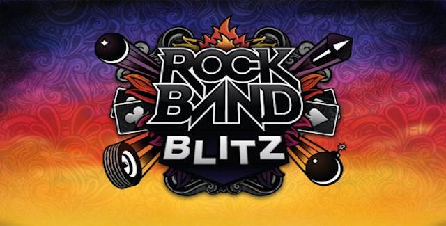 Rock Band Blitz Song List