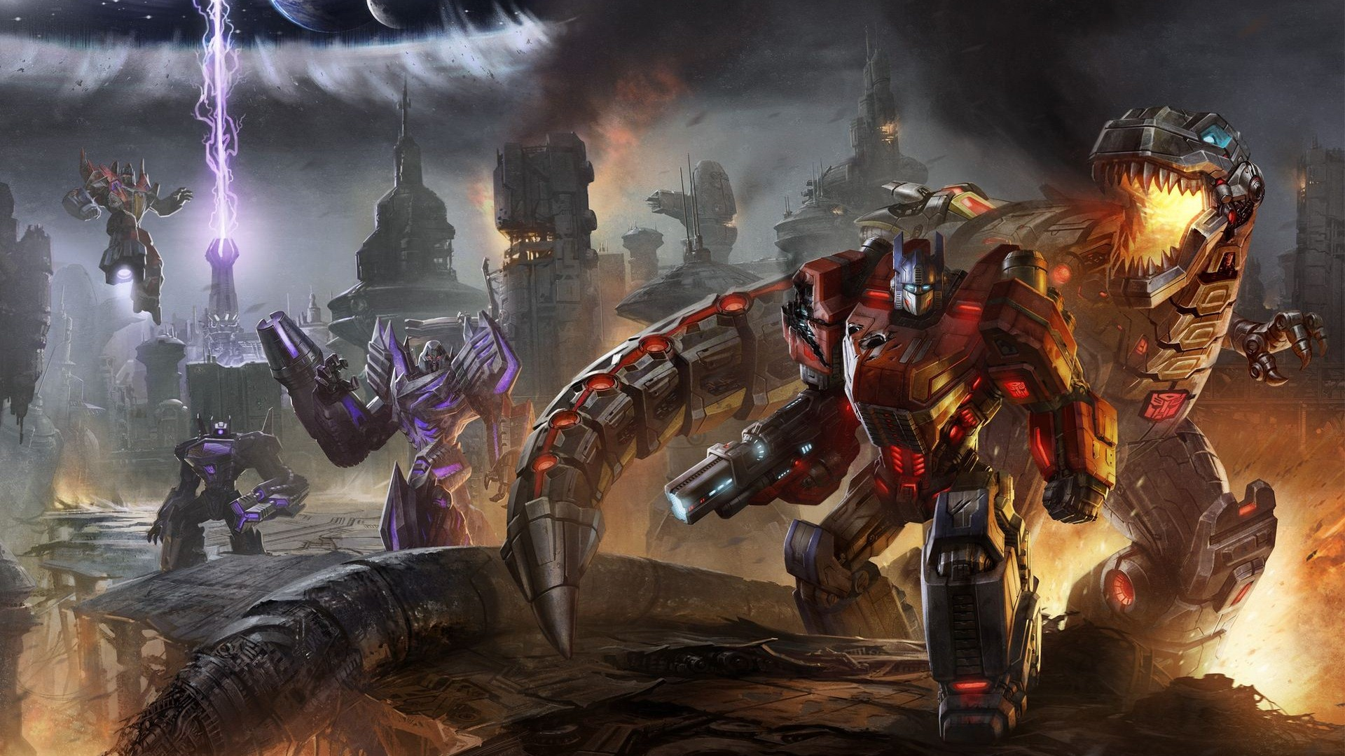 transformers fall of cybertron wallpaper (hd)