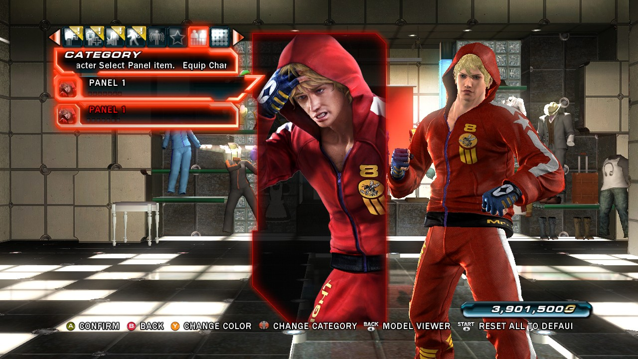 Tekken Tag Tournament 2 Slim Bob Character