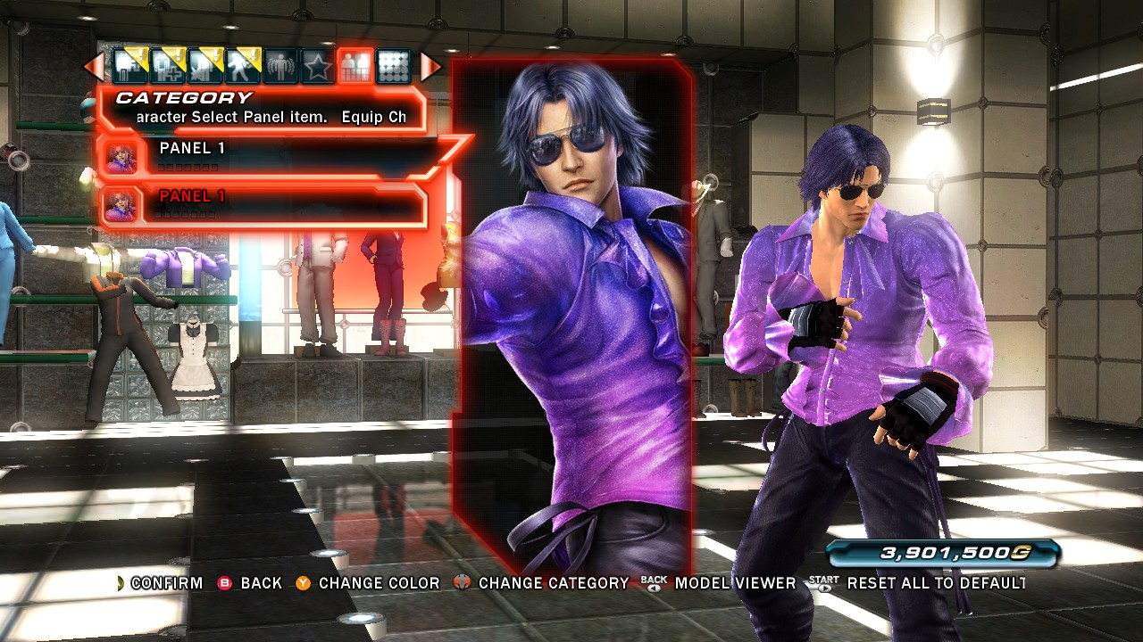 Tekken Tag Tournament 2 Violet Character