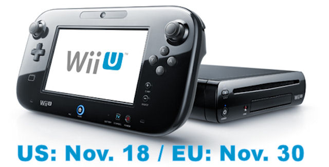 When Will The Nintendo Wii U Be Released?