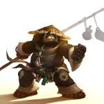 World of Warcraft: Mists of Pandaria Panda Wallpaper