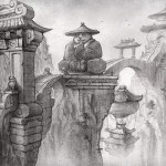 World of Warcraft: Mists of Pandaria Pencil Wallpaper