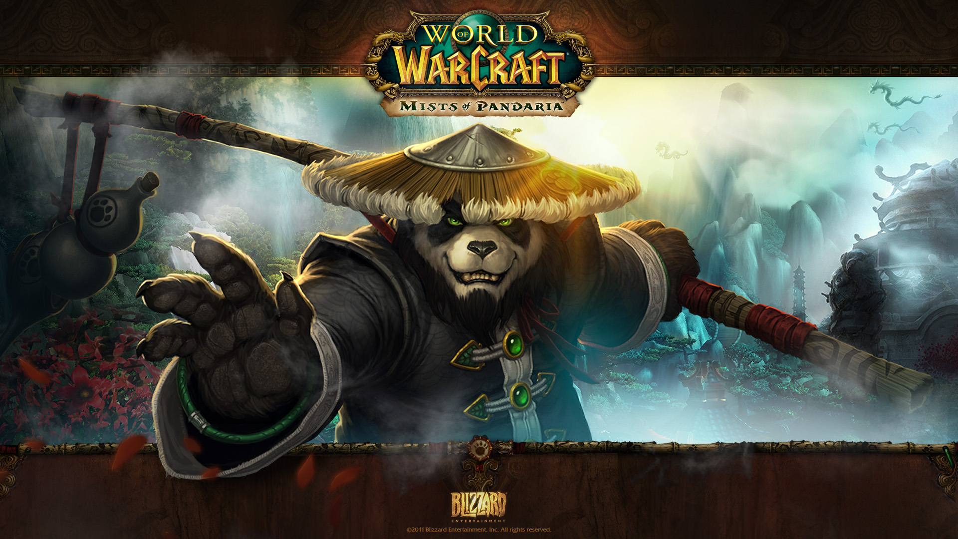 World Of Warcraft Mists Of Pandaria Wallpaper Hd