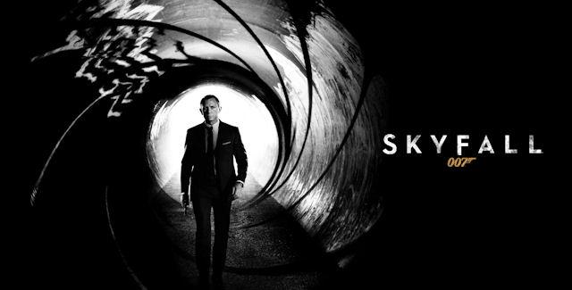 007 Skyfall logo