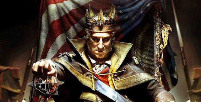 Assassin's Creed 3 Evil George Washington