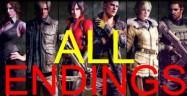 Resident Evil 6 Endings