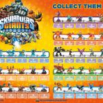 Skylanders Giants characters poster