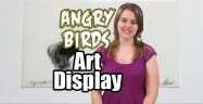 Angry Birds Art Display