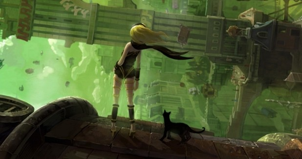 Gravity Rush Cover Art