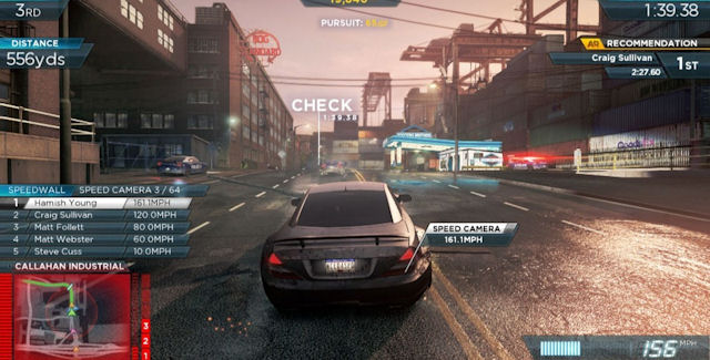 Need For Speed Most Wanted 2012 Speed Cameras Locations Guide