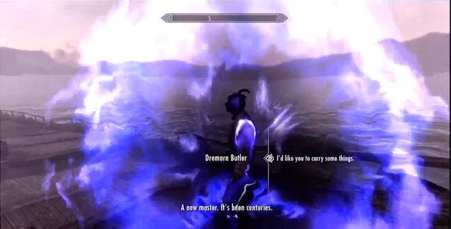 How To Get The Dremora Butler In Skyrim Dragonborn