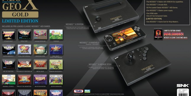 NEOGEO X Gold: Limited Edition System
