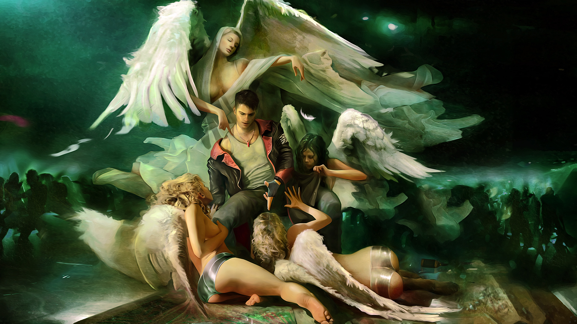 DmC Devil May Cry Angels Wallpaper