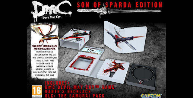 DmC Devil May Cry Unboxing