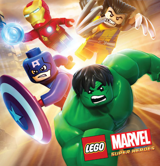 Lego Marvel Super Heroes Characters