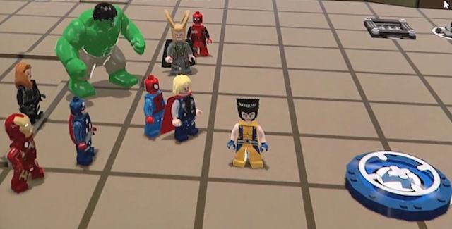 Lego Marvel Super Heroes trailer