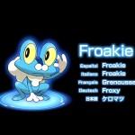 Pokemon X and Y Froakie