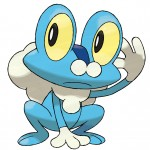 Pokemon X and Y Froakie Artwork