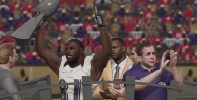 Super Bowl 2013 Winner Screenshot