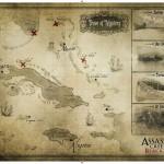 Assassin's Creed 4 Map Wallpaper