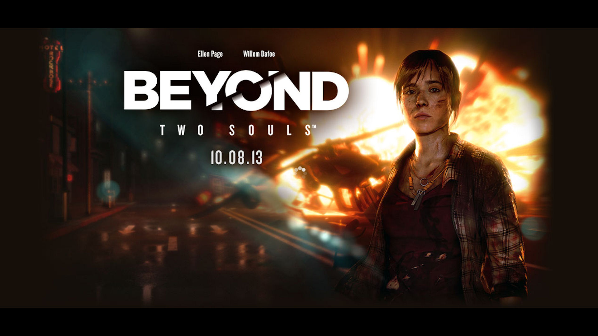 Beyond Two Souls Explosion Wallpaper