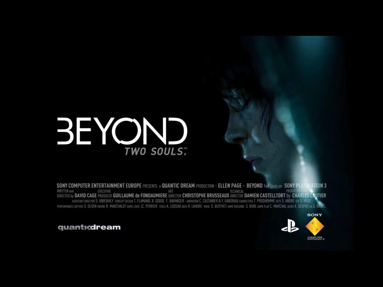 Beyond Two Souls Logo Wallpaper