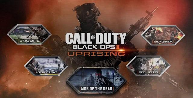 Black Ops 2: Uprising DLC logo