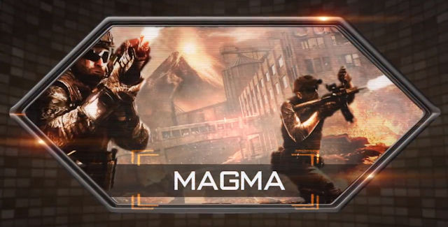 Black Ops 2: Uprising Magma Artwork
