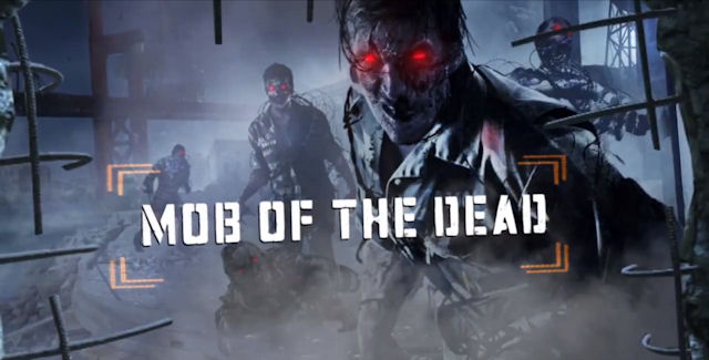Black Ops 2: Uprising Mob of the Dead Artwork
