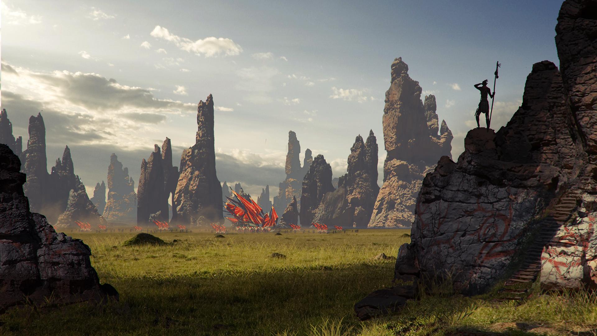 Dragon Age 3 Tribe Wallpaper