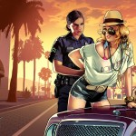 Grand Theft Auto 5 Cop Arrest Wallpaper