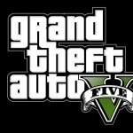Grand Theft Auto 5 Logo Wallpaper