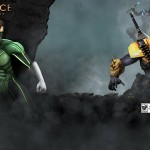 Injustice Gods Among Us Deathstroke Artwork