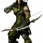 Injustice Gods Among Us Green Arrow Artwork