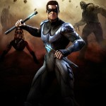 Injustice Gods Among Us Nightwing Artwork