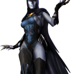 Injustice Gods Among Us Raven Artwork