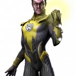 Injustice Gods Among Us Sinestro Artwork