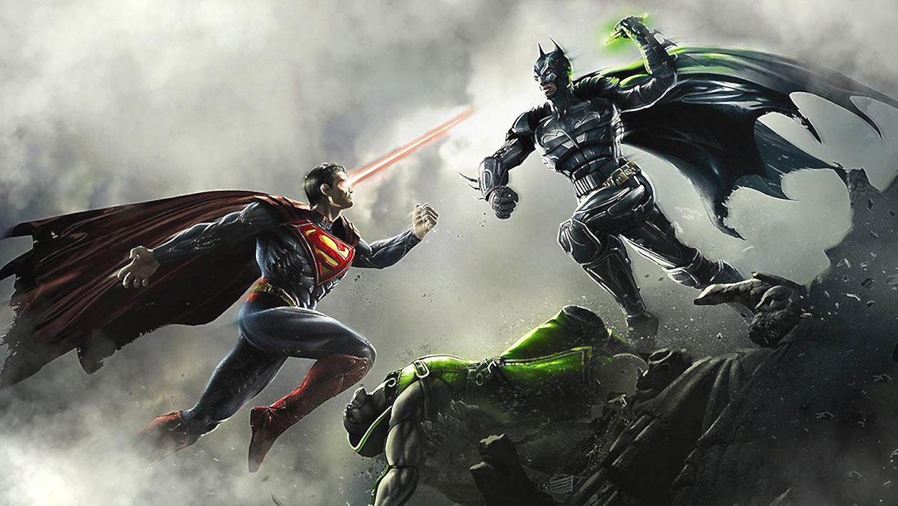 Injustice Gods Among Us Superman Artwork