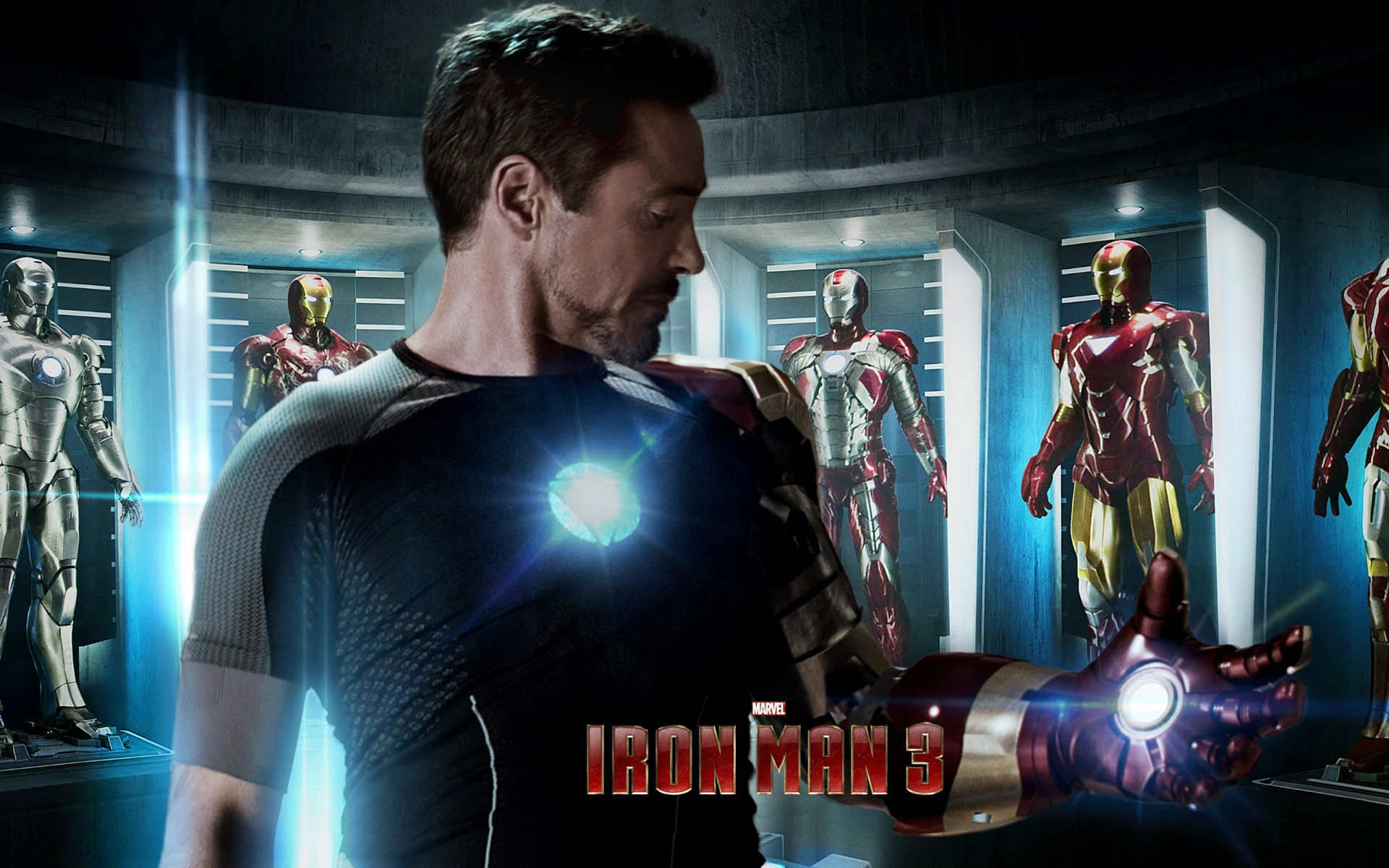 Iron Man 3 Tony Stark Wallpaper