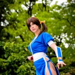 Kasumi Classic Blue Cosplay