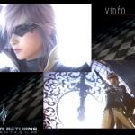 Lightning Returns Final Fantasy XIII Clock Wallpaper