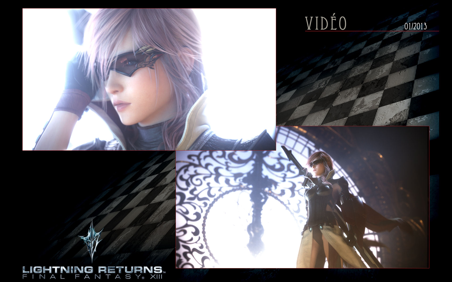 Lightning Returns Final Fantasy Xiii Clock Wallpaper