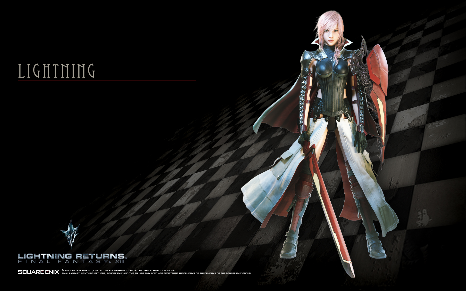 Lightning Returns Final Fantasy XIII Lightning Wallpaper