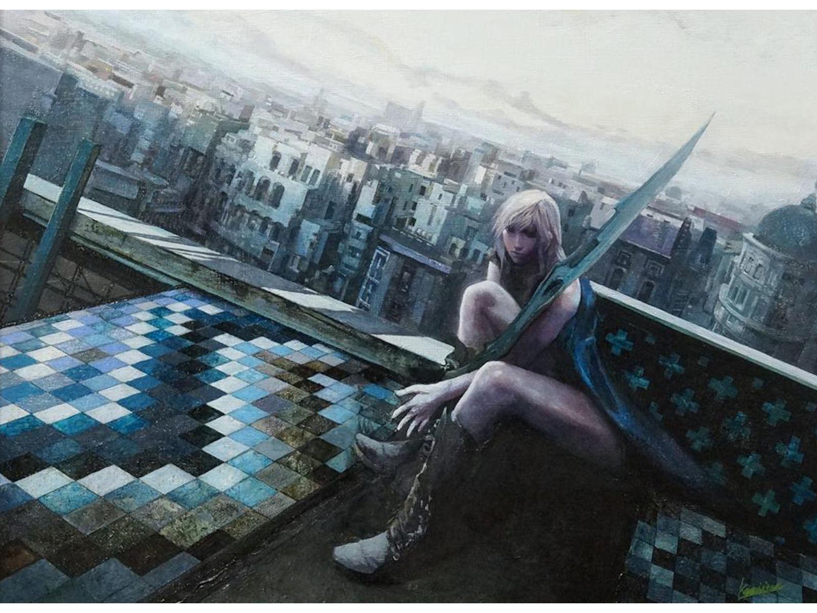Lightning Returns Final Fantasy XIII Painting Wallpaper